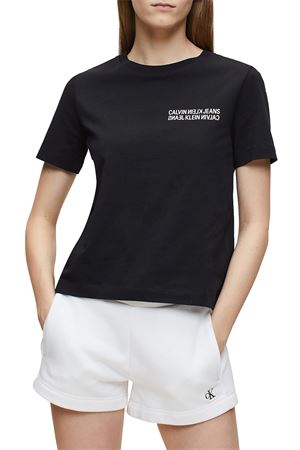 CALVIN KLEIN JEANS Women's T-Shirt CK JEANS |  | J20J213852BAE
