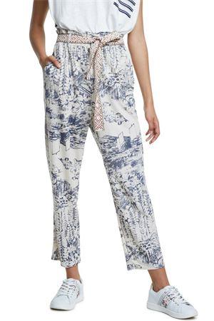 DESIGUAL Pantalone Donna Modello TROPICAL DESIGUAL | Pantalone | 20SWPK121001