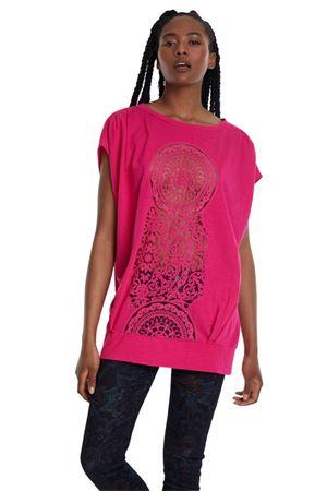 DESIGUAL Woman T-Shirt model SOLA DESIGUAL      20SWTK223098