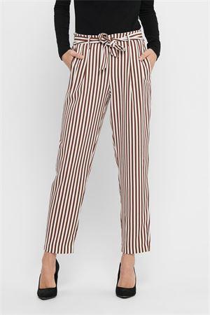 ONLY Pantaloni Donna Modello LAYLA-WIPER ONLY | Pantalone | 15195683STRIPES:CLOUD DC