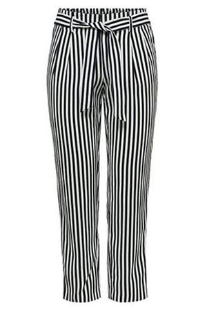 ONLY Pantaloni Donna Modello LAYLA-WIPER ONLY | Pantalone | 15195683STRIPES :CLOUD DC
