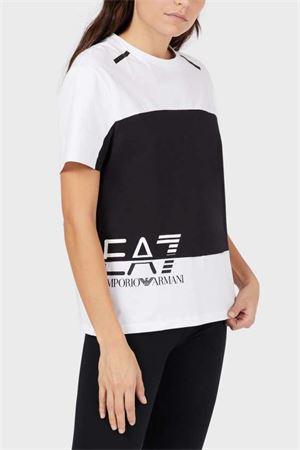 ARMANI EA7 T-Shirt Donna ARMANI EA7 | T-Shirt | 3KTT04 TJ9ZZ1100