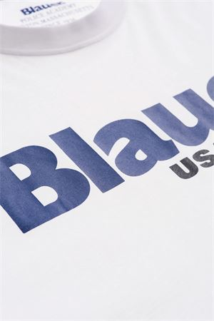 BLAUER Men's T-Shirt BLAUER | T-Shirt | 21SBLUH02128100