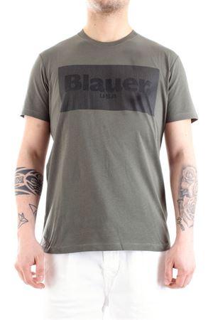 BLAUER Men's T-Shirt BLAUER | T-Shirt | 21SBLUH02133702