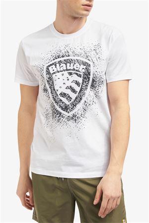 BLAUER Men's T-Shirt BLAUER | T-Shirt | 21SBLUH02134100