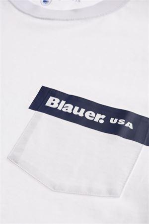 BLAUER Men's T-Shirt BLAUER | T-Shirt | 21SBLUH02136100