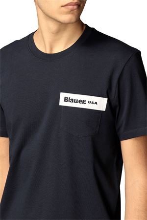 BLAUER Men's T-Shirt BLAUER | T-Shirt | 21SBLUH02136802