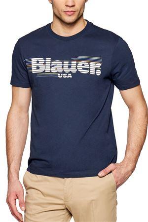 BLAUER Men's T-Shirt BLAUER | T-Shirt | 21SBLUH02334802