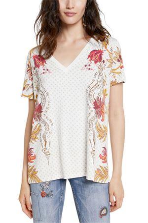 T-Shirt Modello PRAGA DESIGUAL | T-Shirt | 21SWTK181000