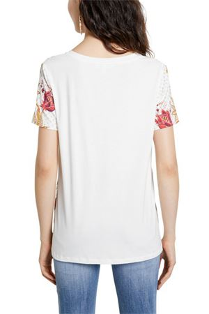 DESIGUAL | T-Shirt | 21SWTK181000
