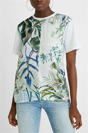 T-Shirt Modello BUDAPEST DESIGUAL | T-Shirt | 21SWTK281001