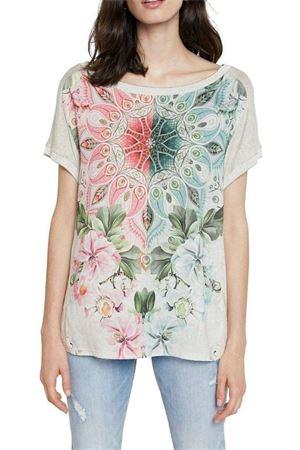 T-Shirt Modello COPENHAGUE DESIGUAL | T-Shirt | 21SWTK423021