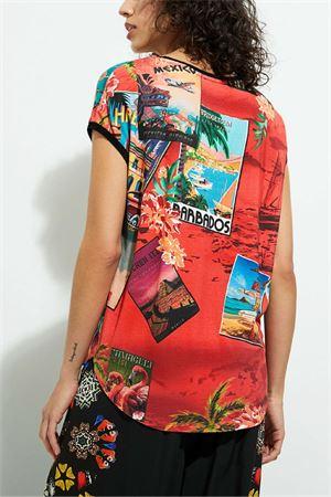T-Shirt Modello COLOMBIA DESIGUAL | T-Shirt | 21SWTKAV3036