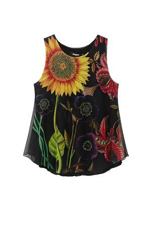 T-Shirt Modello MELINA DESIGUAL | T-Shirt | 21SWTKDE2000