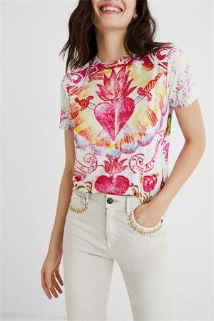 T-Shirt Modello TATTOO DESIGUAL | T-Shirt | 21SWTKDT1001