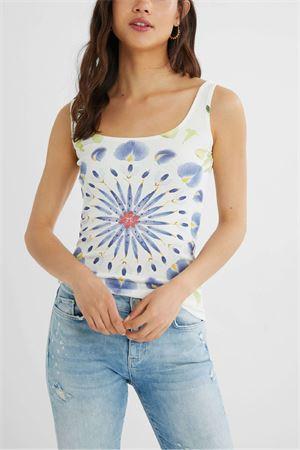 T-Shirt Modello PETALS DESIGUAL | T-Shirt | 21SWTKDV1000