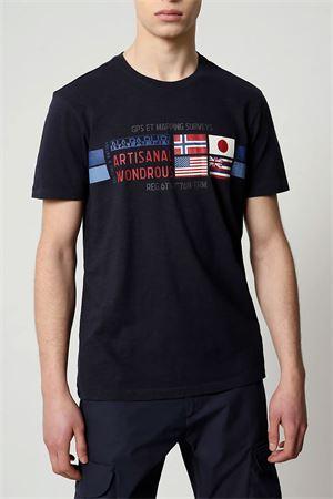 T-Shirt Uomo Modello SILEA NAPAPIJRI | T-Shirt | NP0A4F6J1761