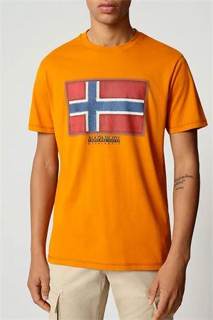T-Shirt Uomo Modello SIROL SS NAPAPIJRI | T-Shirt | NP0A4F9RA581