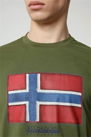 T-Shirt Uomo Modello SIROL SS NAPAPIJRI | T-Shirt | NP0A4F9RG2C1