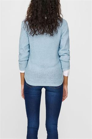 ONLY GEENA Woman Shirt ONLY | Mesh | 15113356CASHMERE BLUE