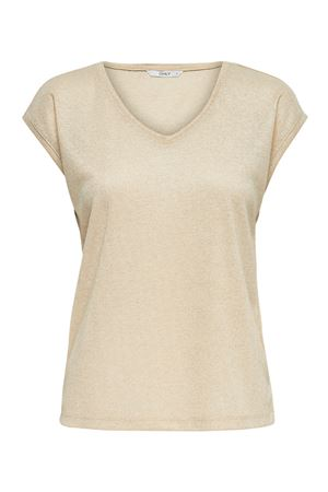 ONLY Top Woman Model SILVERY ONLY | Top | 15136069Gold Colour