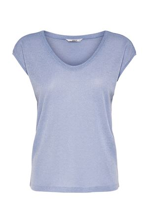 ONLY Top Woman Model SILVERY ONLY | Top | 15136069Halogen Blue