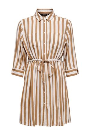ONLY Tamari shirt dress ONLY | Dress | 15185738Stripes-BEIGE