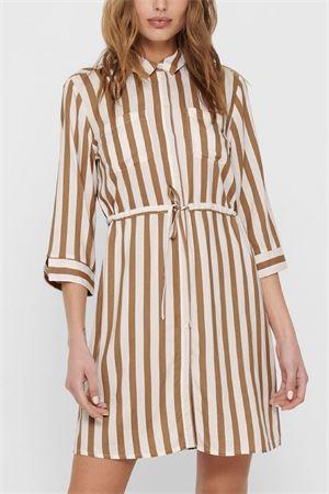ONLY Abito a camicia modello Tamari ONLY | Vestito | 15185738Stripes-BEIGE