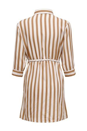 ONLY Tamari shirt dress ONLY | Dress | 15185738Stripes-BEIGE