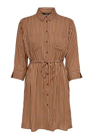 ONLY Tamari shirt dress ONLY | Dress | 15185738Stripes-CLOUD DANCER