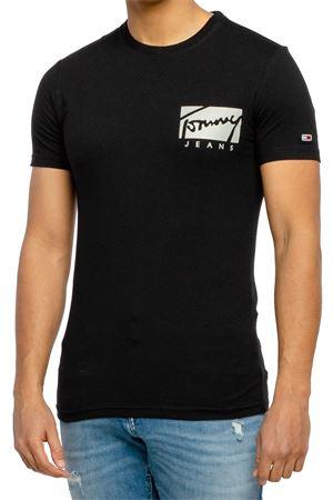 TOMMY JEANS Top Uomo TOMMY JEANS | T-Shirt | DM0DM10215BDS