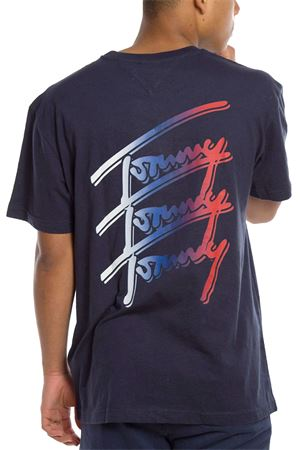 TOMMY JEANS T-Shirt Uomo TOMMY JEANS | T-Shirt | DM0DM10228C87