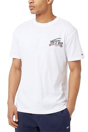 TOMMY JEANS T-Shirt Uomo TOMMY JEANS | T-Shirt | DM0DM10622YBR
