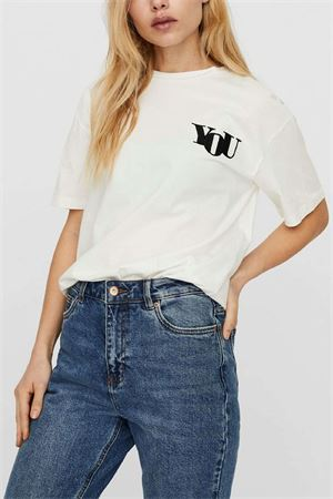 VERO MODA Women's T-Shirt VERO MODA | T-Shirt | 10241344Print-BLACK YOU