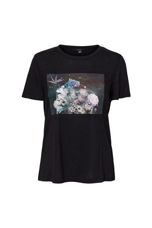 VERO MODA T-SHIRT Donna Modello NELLFRANCIS VERO MODA | T-Shirt | 10241369Print-LITTLE THINGS MEAN A LOT