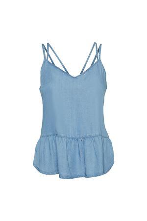 Top Donna Light Blue Denim VERO MODA | Top | 10242280Light Blue Denim