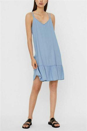 VERO MODA VESTITO CORTO Donna Modello VIVIANA VERO MODA | Vestito | 10242286Light Blue Denim