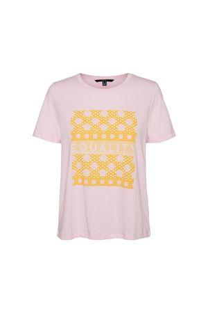 VERO MODA Women's T-Shirt VERO MODA | T-Shirt | 10243430Print-EQUALITY