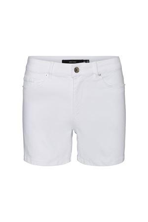 Shorts Bright White VERO MODA | Shorts | 10243729Bright White