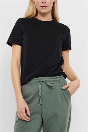 VERO MODA T-SHIRT Donna Modello PAULA VERO MODA | T-Shirt | 10243889Black