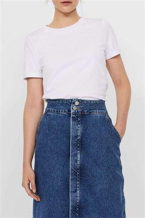 VERO MODA T-SHIRT Donna Modello PAULA VERO MODA | T-Shirt | 10243889Bright White