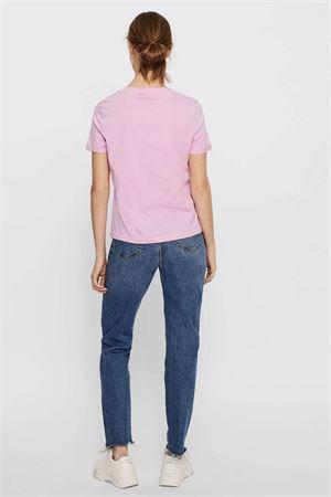VERO MODA T-SHIRT Donna Modello PAULA VERO MODA | T-Shirt | 10243889Pastel Lavender