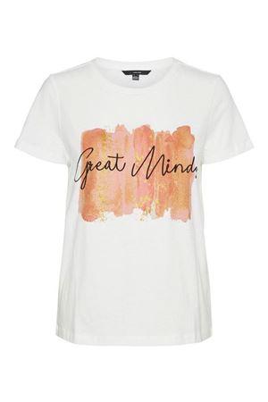 VERO MODA T-SHIRT Donna Modello CAMILLAFRANCIS VERO MODA | T-Shirt | 10243908Print-GREAT MINDS