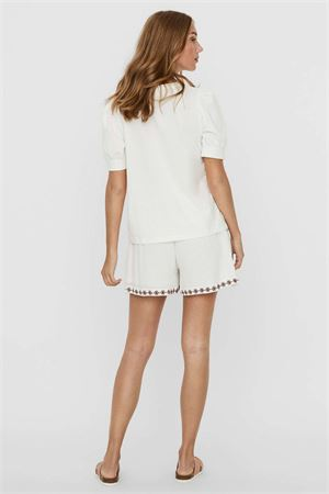 VERO MODA T-SHIRT Donna Modello KERRY 2/4 VERO MODA | T-Shirt | 10243967Snow White