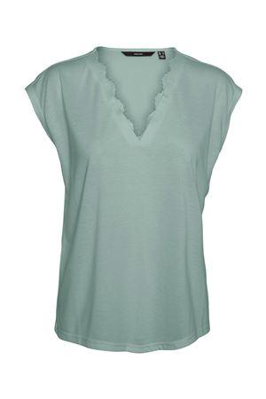 VERO MODA T-SHIRT Donna Modello CARRIE VERO MODA | T-Shirt | 10244100Jadeite