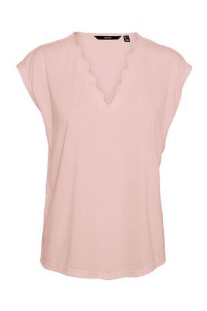 VERO MODA T-SHIRT Donna Modello CARRIE VERO MODA | T-Shirt | 10244100Sepia Rose