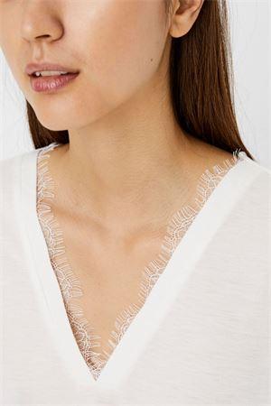 VERO MODA T-SHIRT Donna Modello CARRIE VERO MODA | T-Shirt | 10244100Snow White