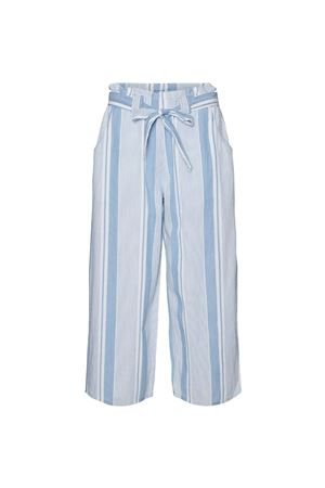 VERO MODA Women's Trousers VERO MODA | Trousers | 10244776Stripes-WHITE
