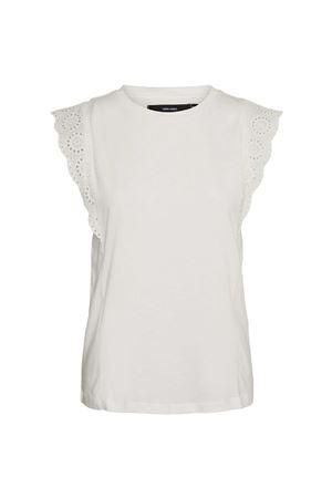 VERO MODA Women's T-Shirt VERO MODA | Top | 10244810Snow White