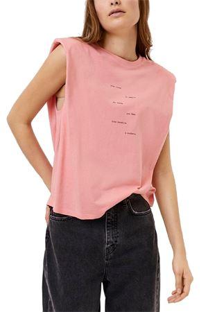VERO MODA T-SHIRT Donna Modello HOLLIE VERO MODA | T-Shirt | 10245256Print-TEXT FROMS IDE TO SIDE